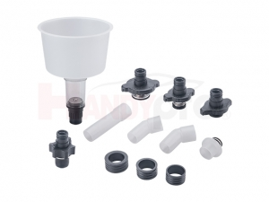 Coolant Refilling Funnel Set with Extension Pipes