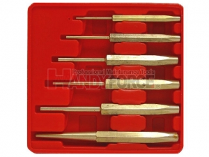 6PCS Brass Punch Set