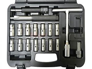 19PCS Diesel Injector Seat Cleaner Set